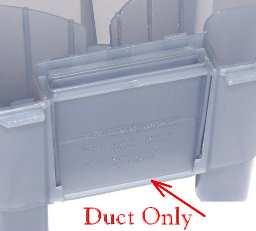 New Hoover Steam Vac Dirty Water Recovery Tank Duct Panel