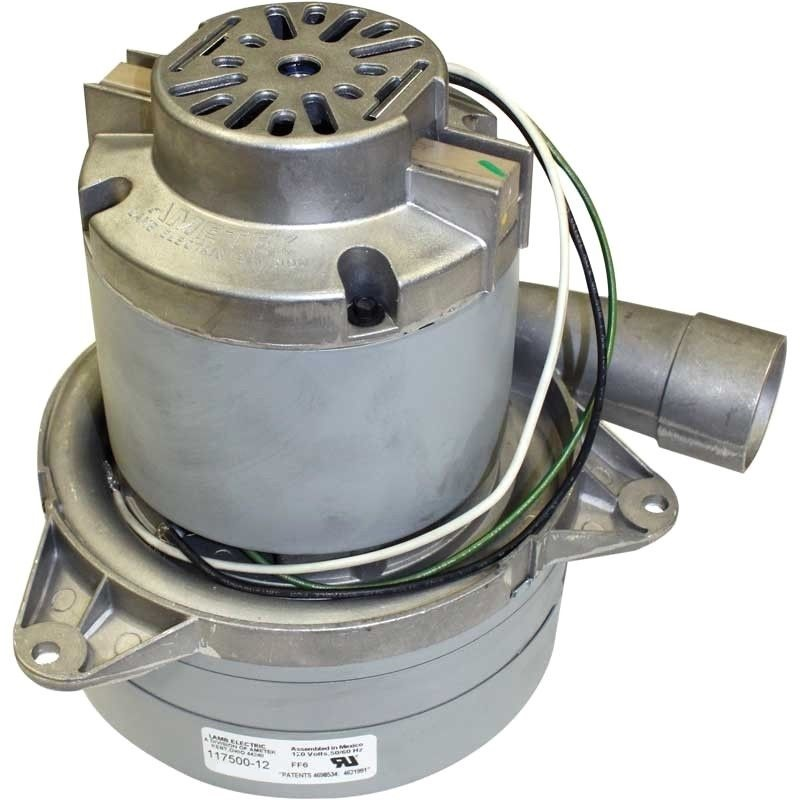 New ametek lamb 3 stage 7 2 vacuum central vac motor 117500 12 glen 39 s vacuum and shampooer Ametek lamb motor