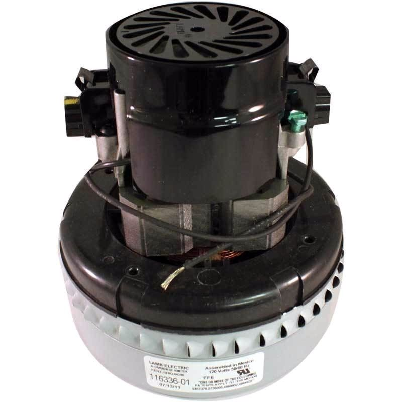 New Genuine Ametek Lamb 2 Stage Peripheral Bypass Vacuum Blower Motor 116336 01 Glen 39 S